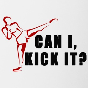 Can I Kick it - Contrast Coffee Mug
