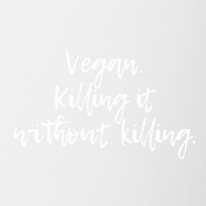 Vegan Killing it - Contrast Coffee Mug