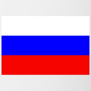 Russia Flag - Contrast Coffee Mug