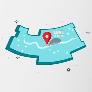Where s Luke - Contrast Coffee Mug