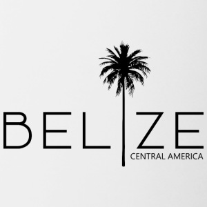 Belize Palm - Contrast Coffee Mug