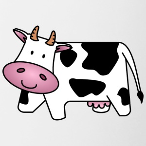 cow100 - Contrast Coffee Mug