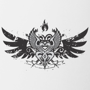 Wings emblem - Contrast Coffee Mug