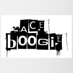 official logo for rap star Ace Boogie - Contrast Coffee Mug