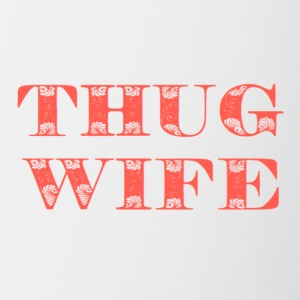 THUG WIFE - Contrast Coffee Mug