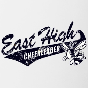 East High CHEERLEADER - Contrast Coffee Mug