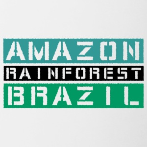 Amazon rainforest Brazil - Contrast Coffee Mug