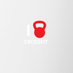 i love crossfit - Contrast Coffee Mug