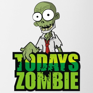 Todays Zombie - Contrast Coffee Mug
