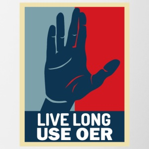 Live Long User OER - Contrast Coffee Mug