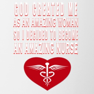 Amazing Nurse - Contrast Coffee Mug