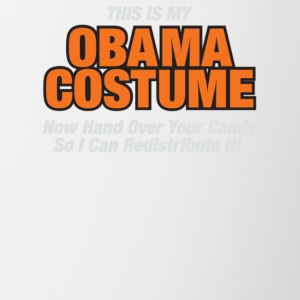 This Is My Obama Costume Anti Obama Halloween - Contrast Coffee Mug