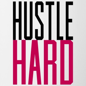 Hustle Hard gangsta hustler - Contrast Coffee Mug