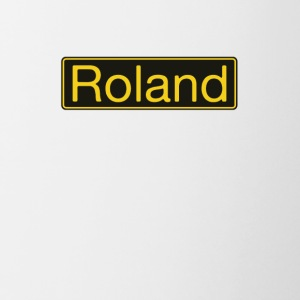 Roland gold - Contrast Coffee Mug