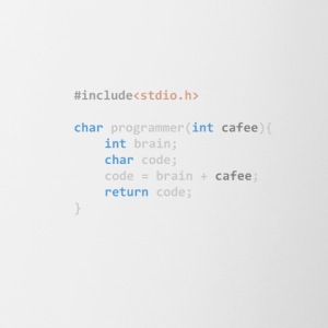The Programmer function - Contrast Coffee Mug