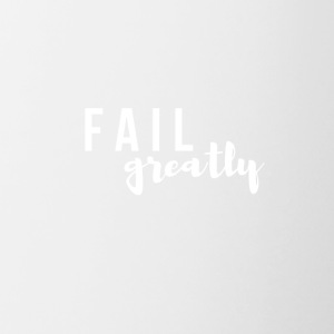 FAIL_greatly_WHITE - Contrast Coffee Mug