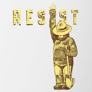 resist smokey - Contrast Coffee Mug