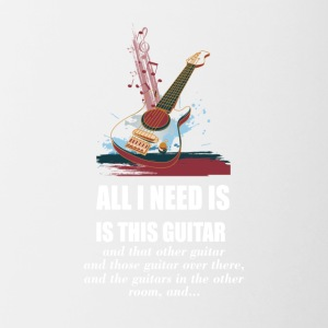 All_I_Need_Is_This_Guitar_T_Shirt - Contrast Coffee Mug