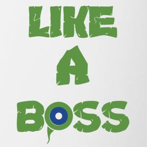 Like A Boss T-shirt - Contrast Coffee Mug