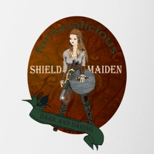 Shield Maiden or Valkyrie T Shirt - Contrast Coffee Mug