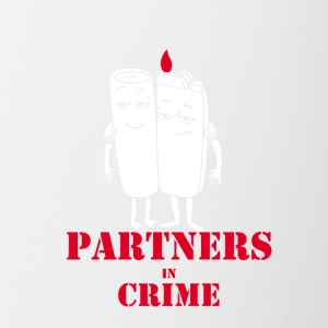 Partners in Crime - Contrast Coffee Mug