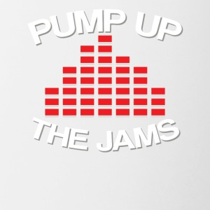 Pump up the jams - Contrast Coffee Mug