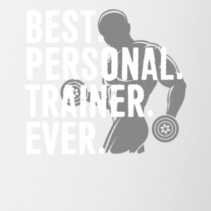 Best Personal Trainer Ever Health Fitness Tshirt - Contrast Coffee Mug