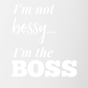 I'm not bossy... - Contrast Coffee Mug