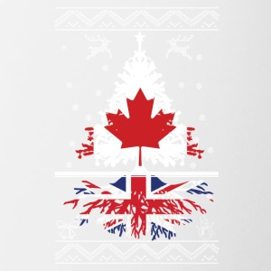 Canadian with British root - Contrast Coffee Mug