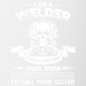 I Am A Welder T Shirt - Contrast Coffee Mug