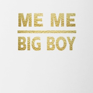 me me big boy - Contrast Coffee Mug