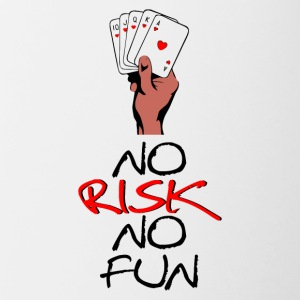 NO RISK NO FUN - Contrast Coffee Mug