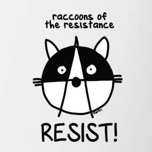 Join of the resistance Resist - Contrast Coffee Mug