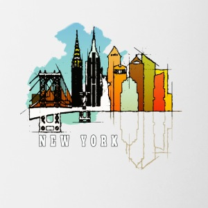 New York T-Shirt - Contrast Coffee Mug