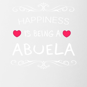 Happiness Is Being a ABUELA - Contrast Coffee Mug