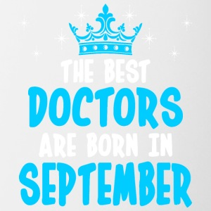 The Best Doctors Are Born In September - Contrast Coffee Mug
