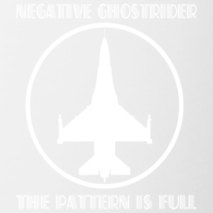 Negative ghostrider the pattern is full - Contrast Coffee Mug