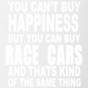 Race car happiness - Contrast Coffee Mug