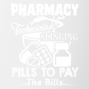 PHARMACY TECHNICIAN TEE & HOODIE - Contrast Coffee Mug