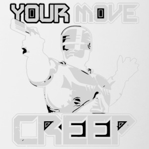 Your Move Creep vectorized - Contrast Coffee Mug