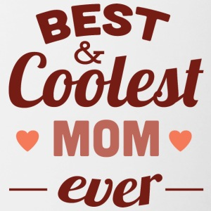 best_and_coolest_mom_ever - Contrast Coffee Mug