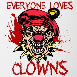 EVIL_CLOWN_29_everyone_loves_clowns - Contrast Coffee Mug