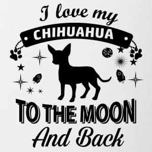 Love my Chihuahua - Contrast Coffee Mug