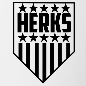 HerKs Stars and Stripes Collection - Contrast Coffee Mug