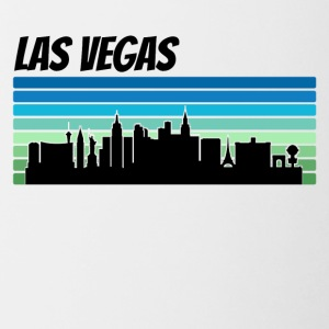 Retro Las Vegas Skyline - Contrast Coffee Mug
