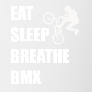 Eat Sleep Breathe BMX - Contrast Coffee Mug