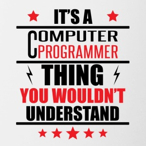 It's A Computer Programmer Thing - Contrast Coffee Mug