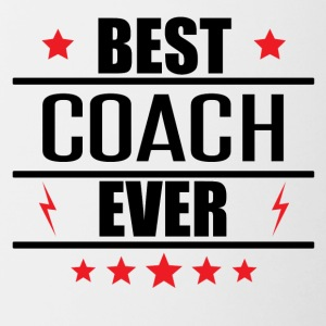 Best Coach Ever - Contrast Coffee Mug