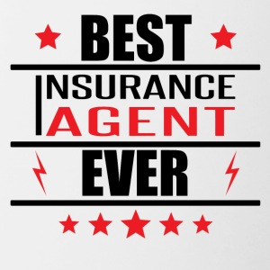 Best Insurance Agent Ever - Contrast Coffee Mug