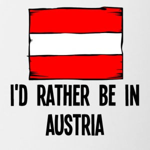 I'd Rather Be In Austria - Contrast Coffee Mug